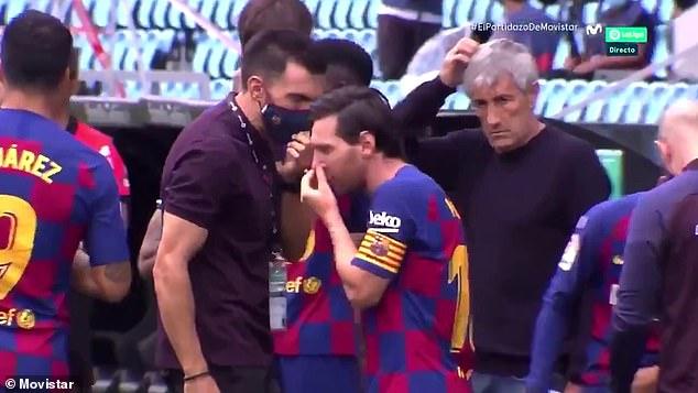 Video që tregon hapur krisjen te Barcelona, Messi i pakënaqur me trajnerin