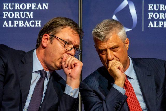 """""""Ne e dimë që…""""/ Vuçiç flet për herë të parë për akt-akuzat ndaj Thaçit"""