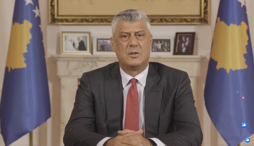 """""""Do bëja të njëjtën gjë…""""/ Thaçi: A mos duhet t'i kërkojmë falje Serbisë për motrat tona të përdhunuara dhe gjenocidin?"""