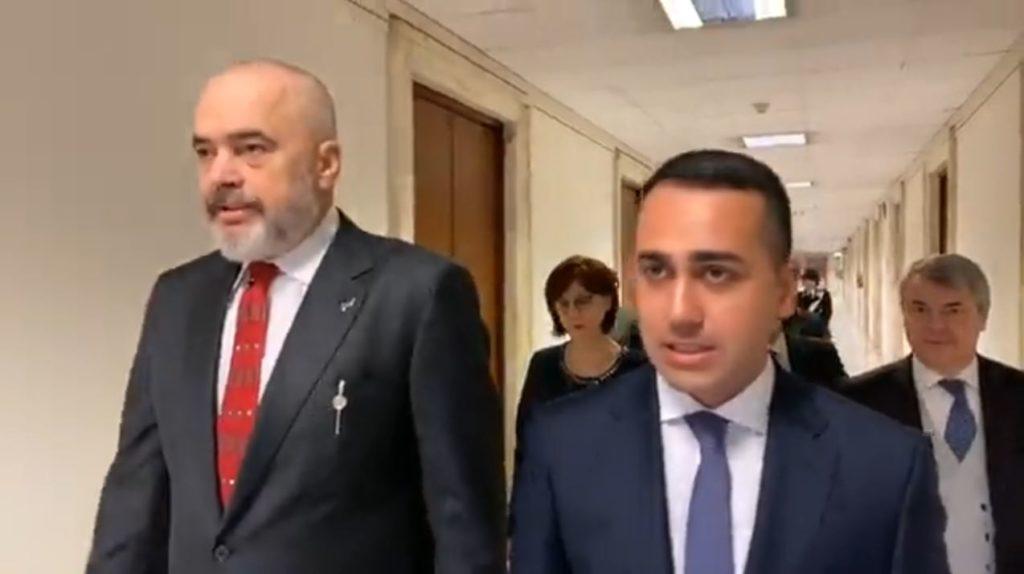 Reforma zgjedhore në udhëkryq  ministri italian Di Maio telefonon Ramën e Bashën