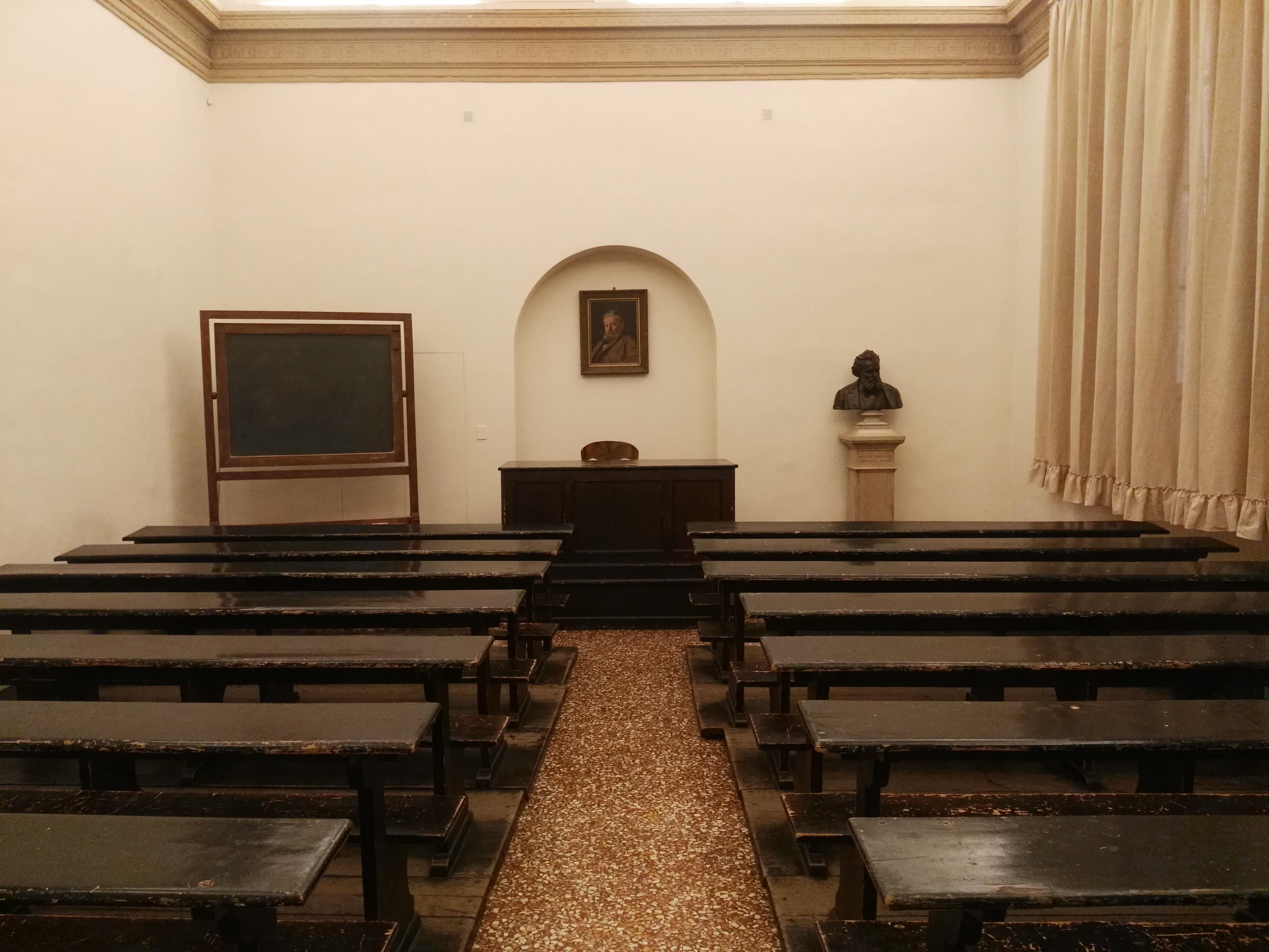 Aula Carducci në Bolonja, via Zamboni 33. Foto nga Erjon Uka
